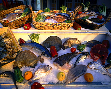 France, French Riviera, Nice, seafood