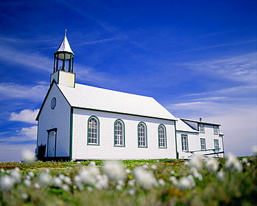 Ste. Anne's Chapel, Lower North Shore, Providence Island. Duplessis region, Quebec