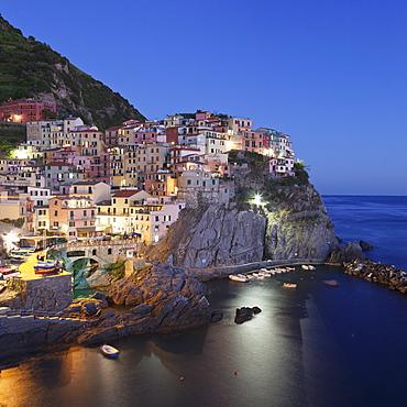 Manarola, Cinque Terre, UNESCO World Heritage Site, Riviera di Levante, Provinz La Spazia, Liguria, Italy, Europe