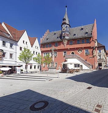 Town Hall, Ochsenfurt, Mainfranken, Lower Franconia, Bavaria, Germany, Europe