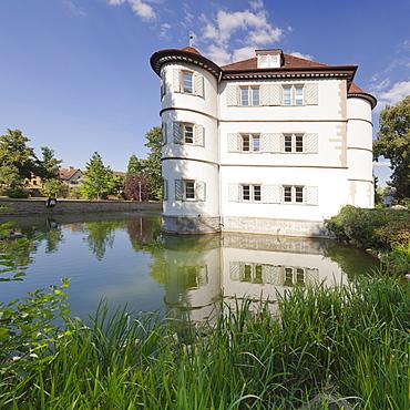 Water Castle, Bad Rappenau, Heilbronn District, Baden Wurttemberg, Germany, Europe