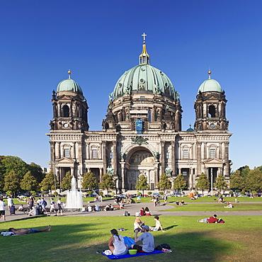 Berliner Dom (Berlin Cathedral), Museum Island, UNESCO World Heritage Site, Mitte, Berlin, Germany, Europe