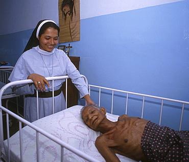 India - health st. Josephs hospice for cancer patients kottayam, kerala