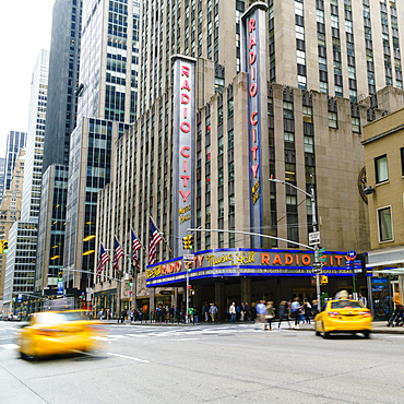 Radio City Music Hall, Manhattan, New York City, United States of America, North America