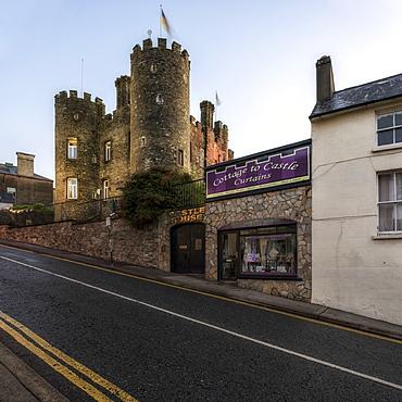 Enniscorty Castle, County Wexford, Leinster, Republic of Ireland, Europe