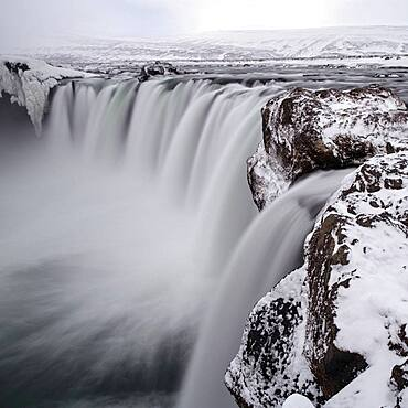 Godafoss, Waterfall, Northern Iceland