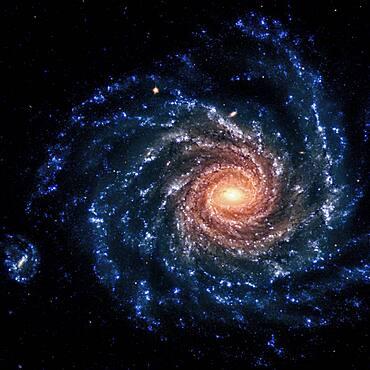 NGC 1232, Spiral Galaxy, Optical