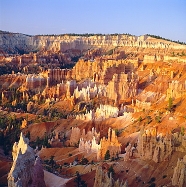 View over Silent City from Sunset Point, Bryce Canyon National Park, Utah, USA, North America