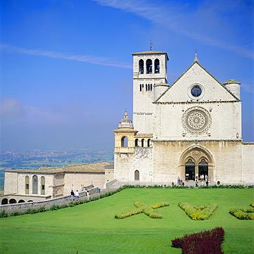 Basilica di San Francesco Chiesa Superiore, Assisi, umbria, Italy