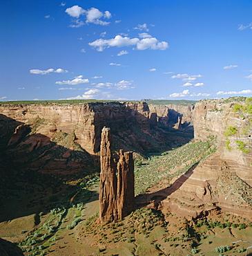 Spider Rock, Canyon de Chelly National Monument, Arizona, USA, North America