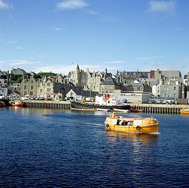 The harbour, Lerwick, Shetland Islands, Scotland, United Kingdom, Europe
