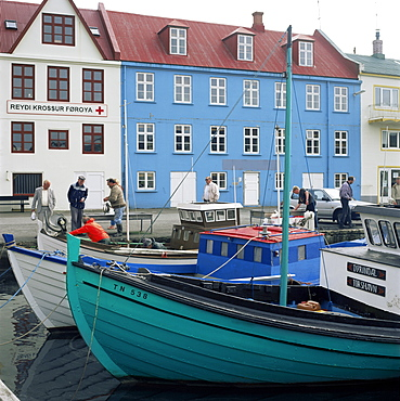 Thorshavn, Stremoy, Faroe Islands, Denmark, Atlantic, Europe