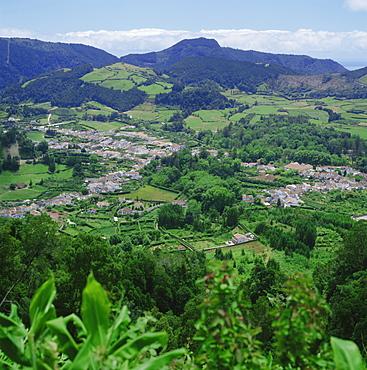 Furnas Valley, Sao Miguel, Azores, Portugal, Atlantic