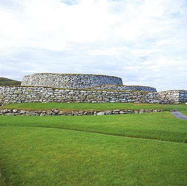 Clickimin Broch, Lerwick, Shetland, Shetland Islands, Scotland, United Kingdom, Europe