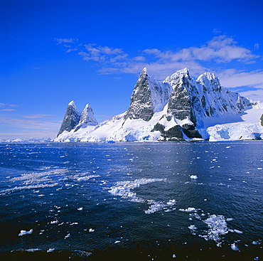 Cape Renard in the Lemaire Channel on the west coast of the Antarctic Peninsula, Antarctica