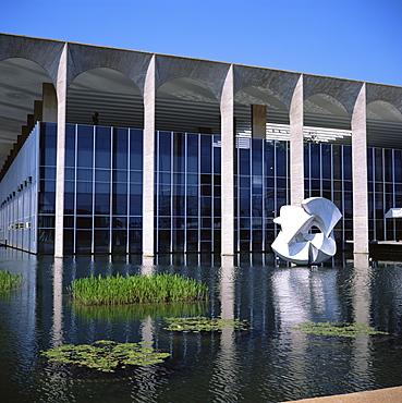 Palacio do Itamaraty, Brasilia, UNESCO World Heritage Site, Brazil, South America