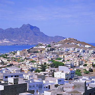 The main port of Mindelo on the island of Sao Vicente, Cape Verde Islands