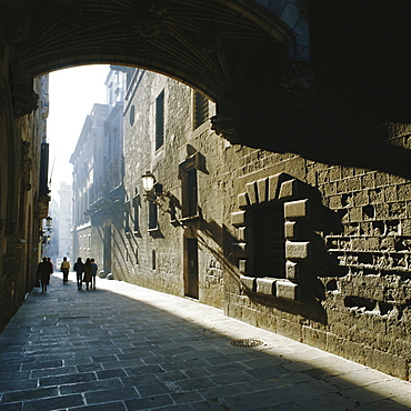 Gothic quarter, Barcelona, Catalonia (Cataluna) (Catalunya), Spain, Europe