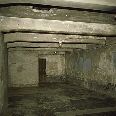 Gas chamber, Auschwitz Concentration Camp, UNESCO World Heritage Site, Oswiecim, Poland, Europe