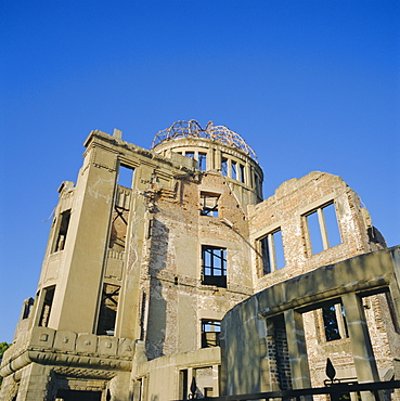 Atomic Bomb Dome, Hiroshima Memorial, Hiroshima, Japan