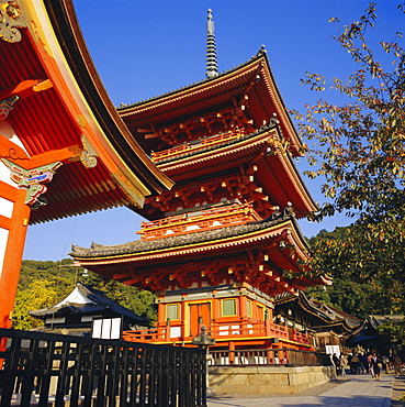 Kiyomizu Temple, Higashiama-ku, Kyoto, Japan