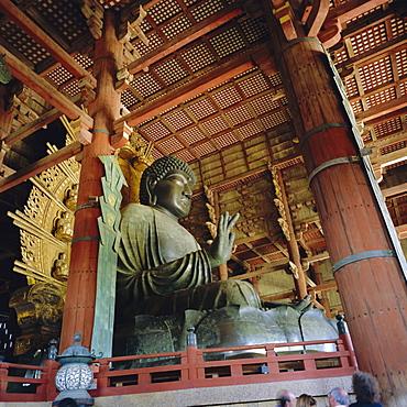 Todai-ji Temple, Daibutsu Great Buddha, Nara, Kansai, Japan