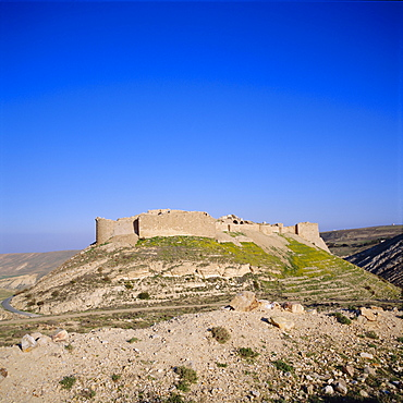 Shobak Castle, 12th century Crusader castle, Jordan, Middle East