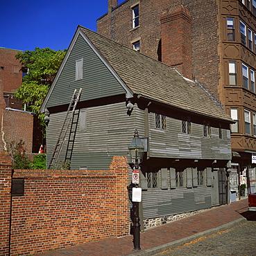 Paul Revere's house, Boston, Massachusetts, New England, United States of America, North America