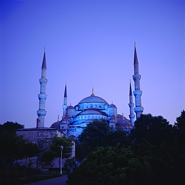 Sultan Ahmet Mosque (Blue Mosque) 1609-1616, Istanbul Turkey, Eurasia