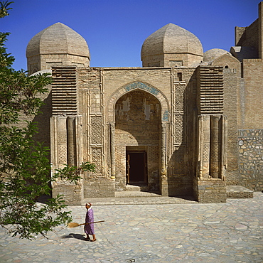 Magoki-Attari mosque, founded in the 12th century, rebuilt in the 16th century, Bukhara, Uzbekistan, Central Asia, Asia