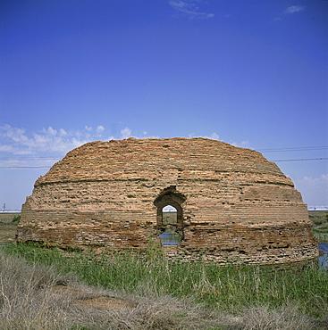 Caravanserai, Rabat-i-Malek, Uzbekistan, Central Asia, Asia