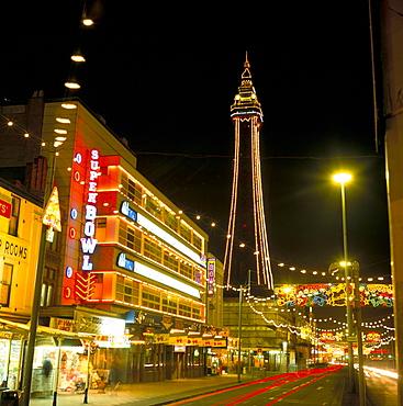 Blackpool illuminations, Blackpool, Lancashire, England, United Kingdom, Europe