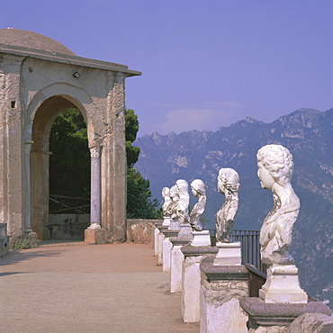 Villa Cimbrone, Ravello, Costiera Amalfitana (Amalfi Coast), UNESCO World Heritage Site, Campania, Italy, Europe