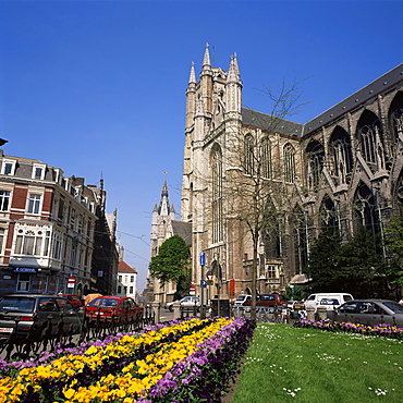 Cathedral of St. Bavon, Ghent, Belgium, Europe