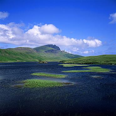 Loch Fada and the Storr, Isle of Skye, Highland region, Scotland, United Kingdom, Europe