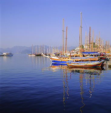Marmaris harbour, Turkey, Eurasia