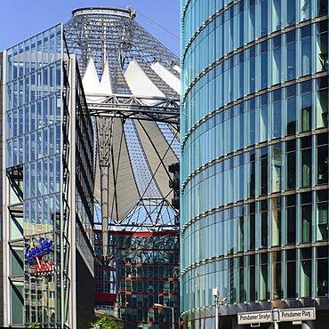 Germany, Berlin, Potzdamer Platz, Sony Centre.