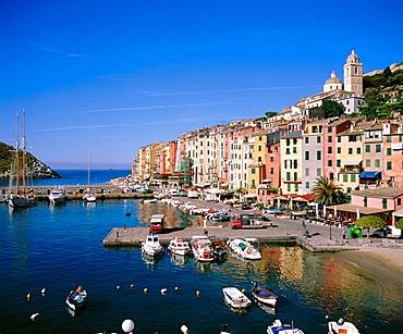 Portovenere, Cinque Terre, Liguria, Eastern Riviera, Italy