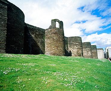 Roman walls, Lugo, Galicia, Spain