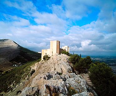 Santa Catalina's castle, Jaen, Spain