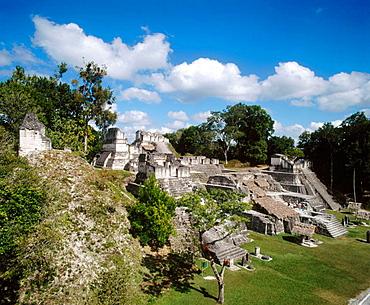 North Acrropolis, Mayan ruins of Tikal, Guatemala