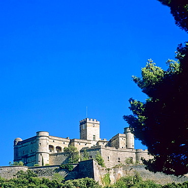 Castle 12th century, 'Le Barroux', Provence, France
