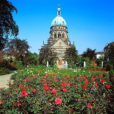 Christus-Kirche (Christ church), Mainz, Rhineland-Palatinate, Germany