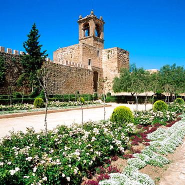 Papabellotas tower, Antequera's castle, XII-XVI Century, Malaga province, Andalucia, Spain