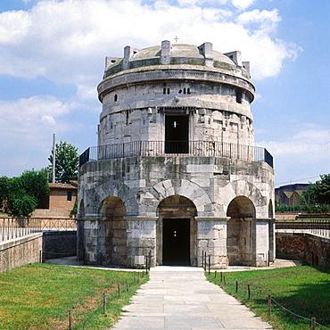 Mausoleum of Theodoric (520 B.C), Ravenna, Emilia-Romagna, Italy