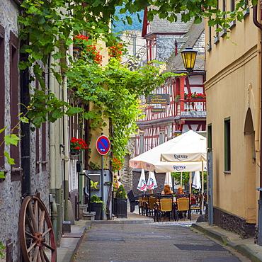 Braubach, Rhineland Palatinate, Germany, Europe