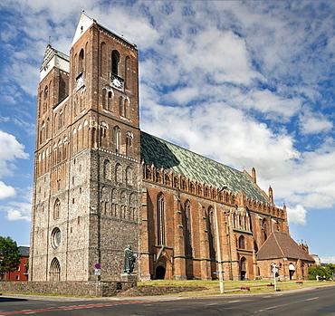 Marienkirche church, Prenzlau, Uckermark, Brandenburg, Germany, Europe