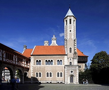 Burg Dankwarderode castle, Braunschweig, Lower Saxony, Germany, Europe