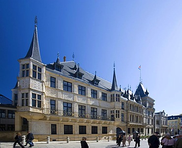 Grand-Duc, Ducal Palace, Palace of the Grand Duke, house of representatives, Grand Ducal Palace, Luxembourg, Europe