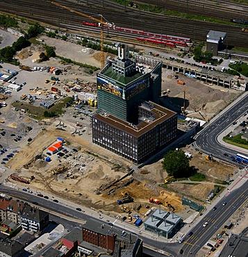 Aerial photo, Dortmund U, downtown Dortmund, Ruhrgebiet area, North Rhine-Westphalia, Germany, Europe